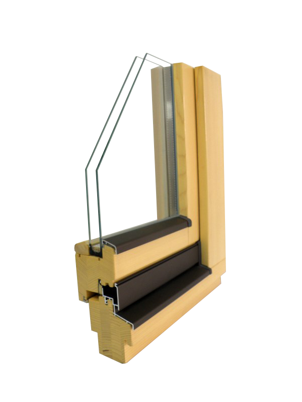 wooden window Glin GLT 68