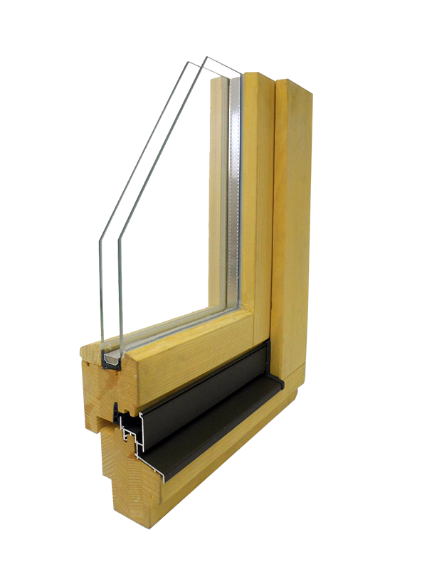 wooden window glin glt 68 s