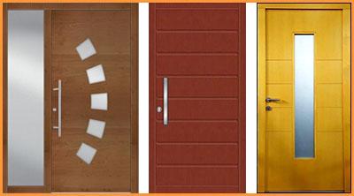 vhodna vrata glin